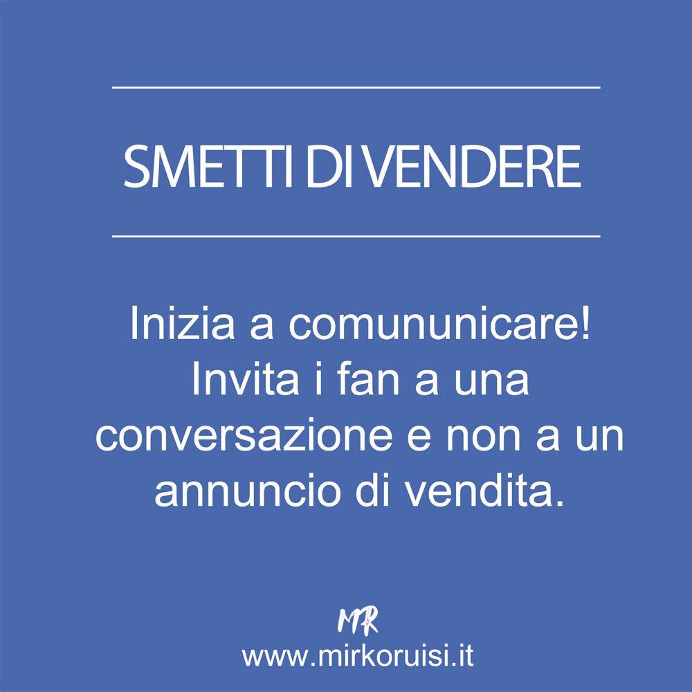 Smetti di comunicare